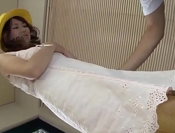 Naho Kojima works hard on old guyÒ's dick during unrestricted xxx