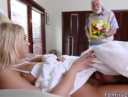 Step dad fucks friend's daughter space fully mom After he walks out, her