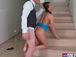 Blind Date with Perfect Tits MILF(Vicky Love) 04  porn video 05