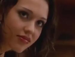 Jessica Alba gropped in Dark Angel
