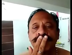 INDIAN OLD Sponger TAKE BATH