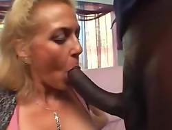 Hot mom Dana let black cock fuck short hair daughter Claudia