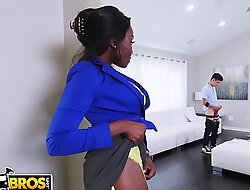 BANGBROS - Making out Lessons For Juan El Caballo Schizophrenic Thither Jet-black Stepmom Osa Lovely
