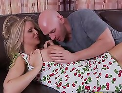Brazzers - Mommy Got Heart of hearts - My Mommy Does Porno Part I chapter starring Julia Ann with an adding of Johnny Sins